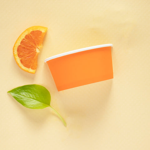 Citrus, Don't Sacrifice Style for Sustainability: Use Colorful Eco Cups!
