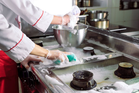 Washing Dishes, How to Reduce Water Usage in Your Restaurant
