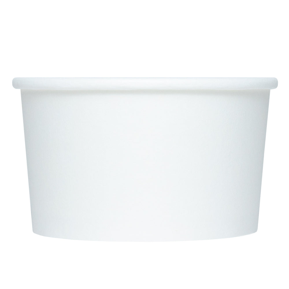 UNIQ® 4 oz White Eco-Friendly Compostable Cups