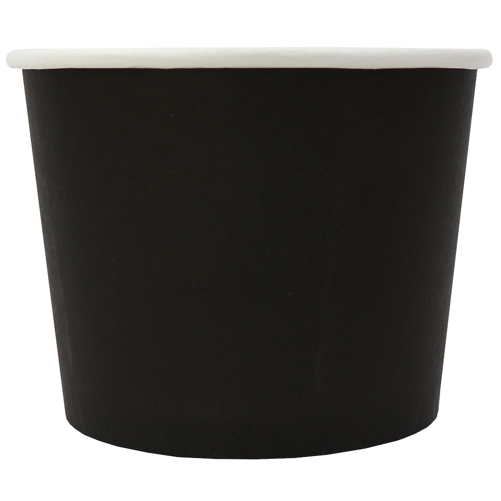 UNIQ® 12 oz Black Eco-Friendly Compostable Cups