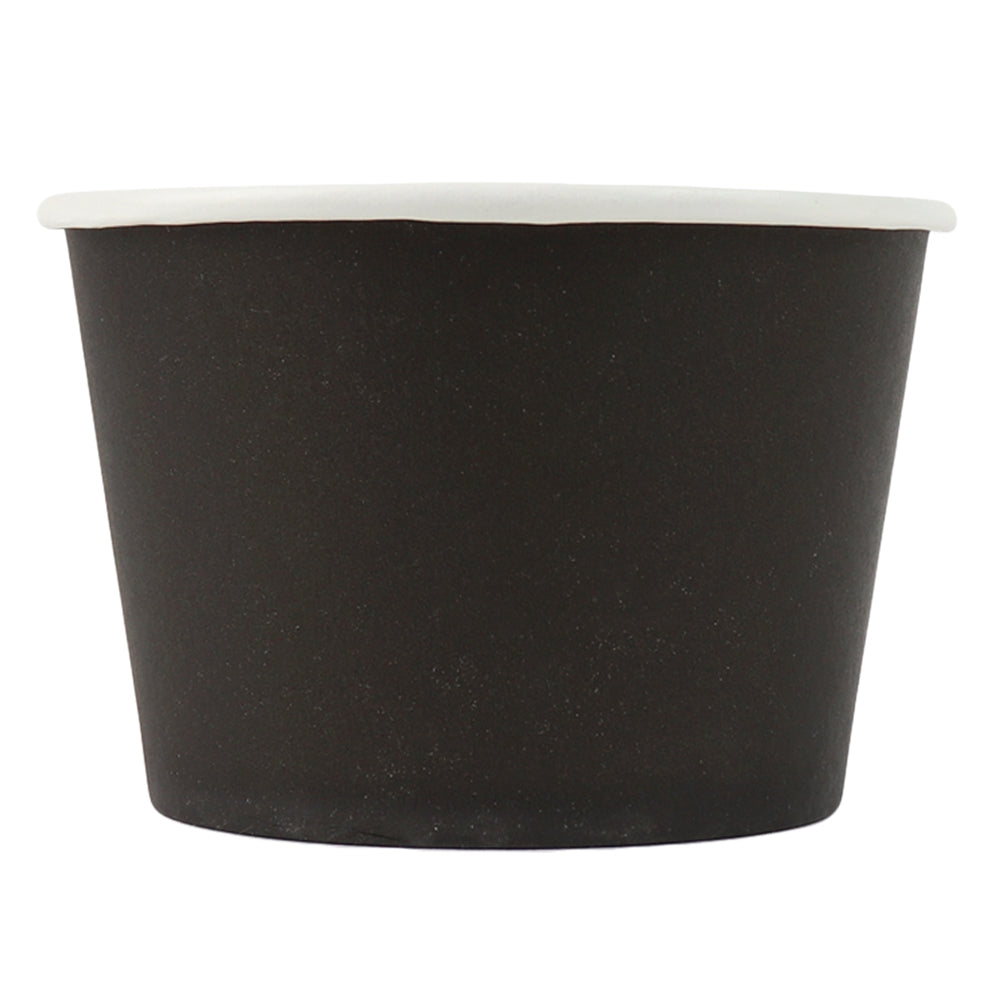 UNIQ® 8 oz Black Eco-Friendly Compostable Cups