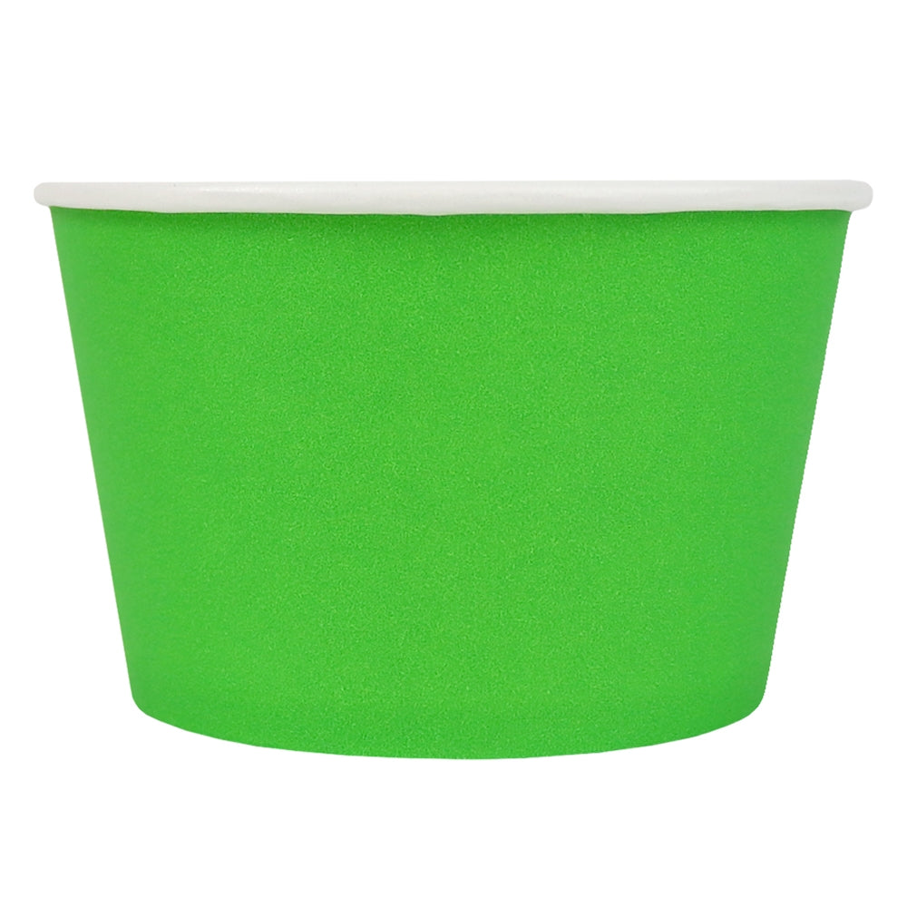 UNIQ® 8 oz Green Eco-Friendly Compostable Cups
