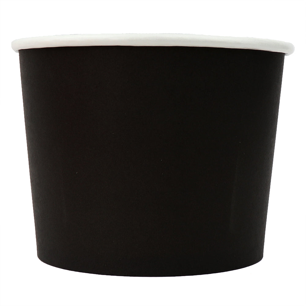 UNIQ® 16 oz Black Eco-Friendly Compostable Cups