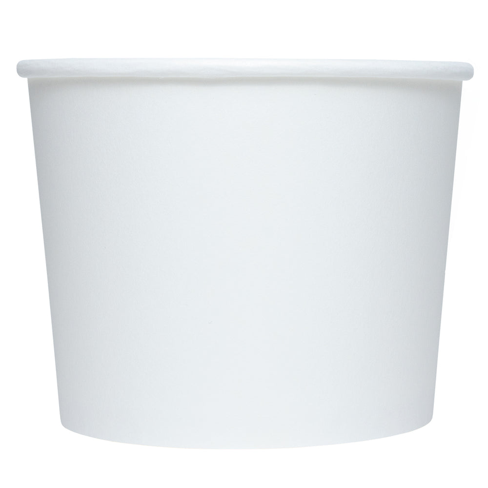 UNIQ® 16 oz White Eco-Friendly Compostable Cups