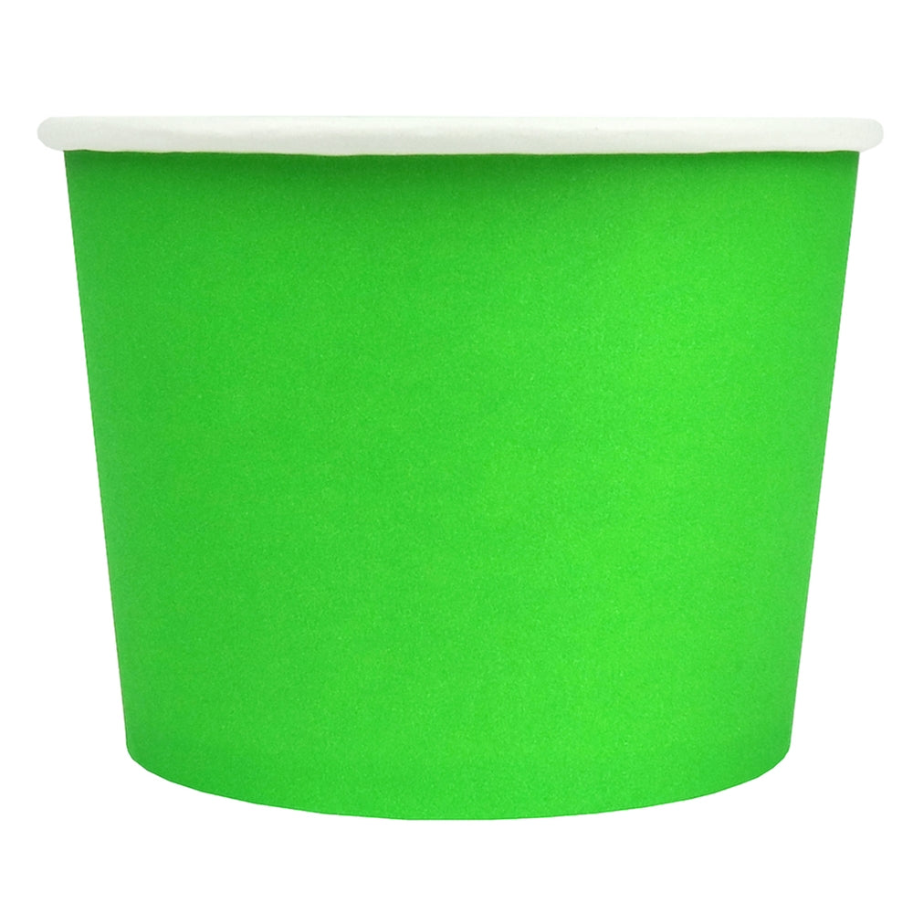 UNIQ® 16 oz Green Eco-Friendly Compostable Cups