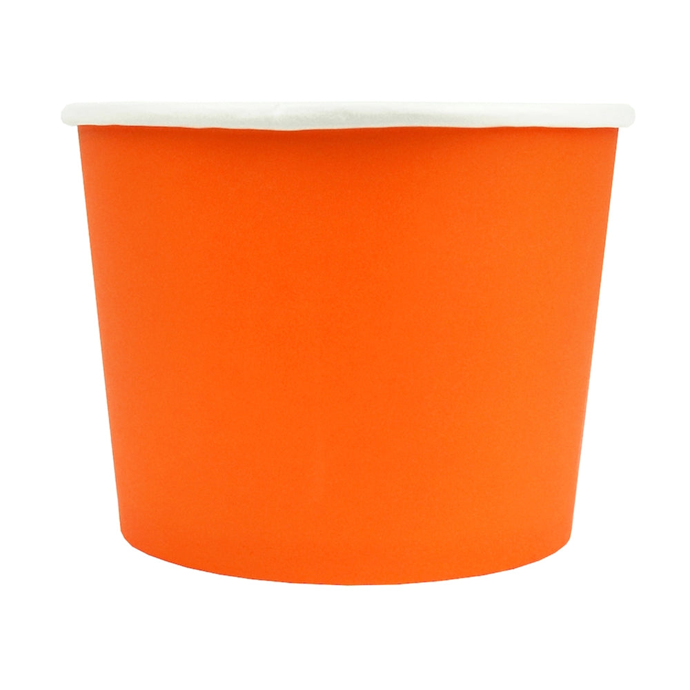 UNIQ® 16 oz Orange Eco-Friendly Compostable Cups