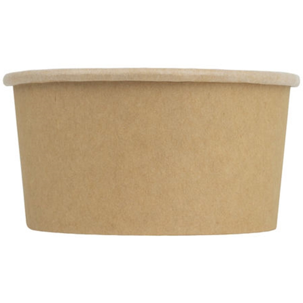 UNIQ® 6 oz Kraft Compostable Cups