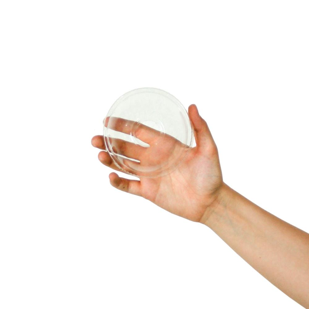 UNIQ® 6/8 oz Clear Dome Cup Lids