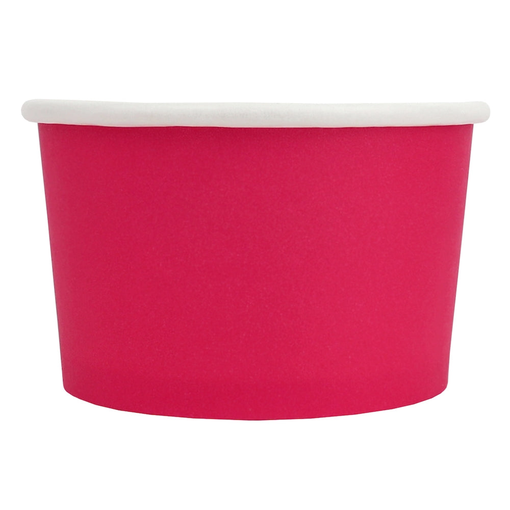 UNIQ® 4 oz Pink Eco-Friendly Compostable Cups