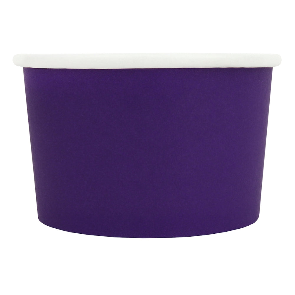 UNIQ® 4 oz Purple Eco-Friendly Compostable Cups