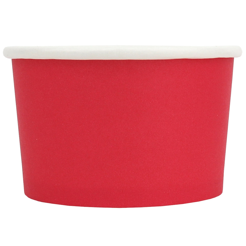 UNIQ® 4 oz Red Eco-Friendly Compostable Cups