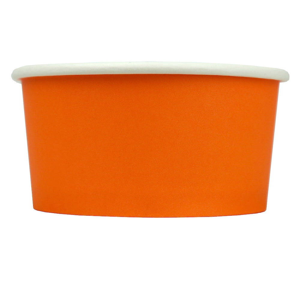UNIQ® 6 oz Orange Eco-Friendly Compostable Cups