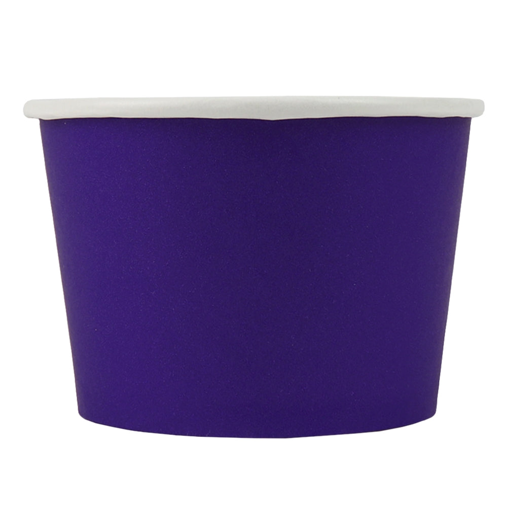 UNIQ® 8 oz Purple Eco-Friendly Compostable Cups