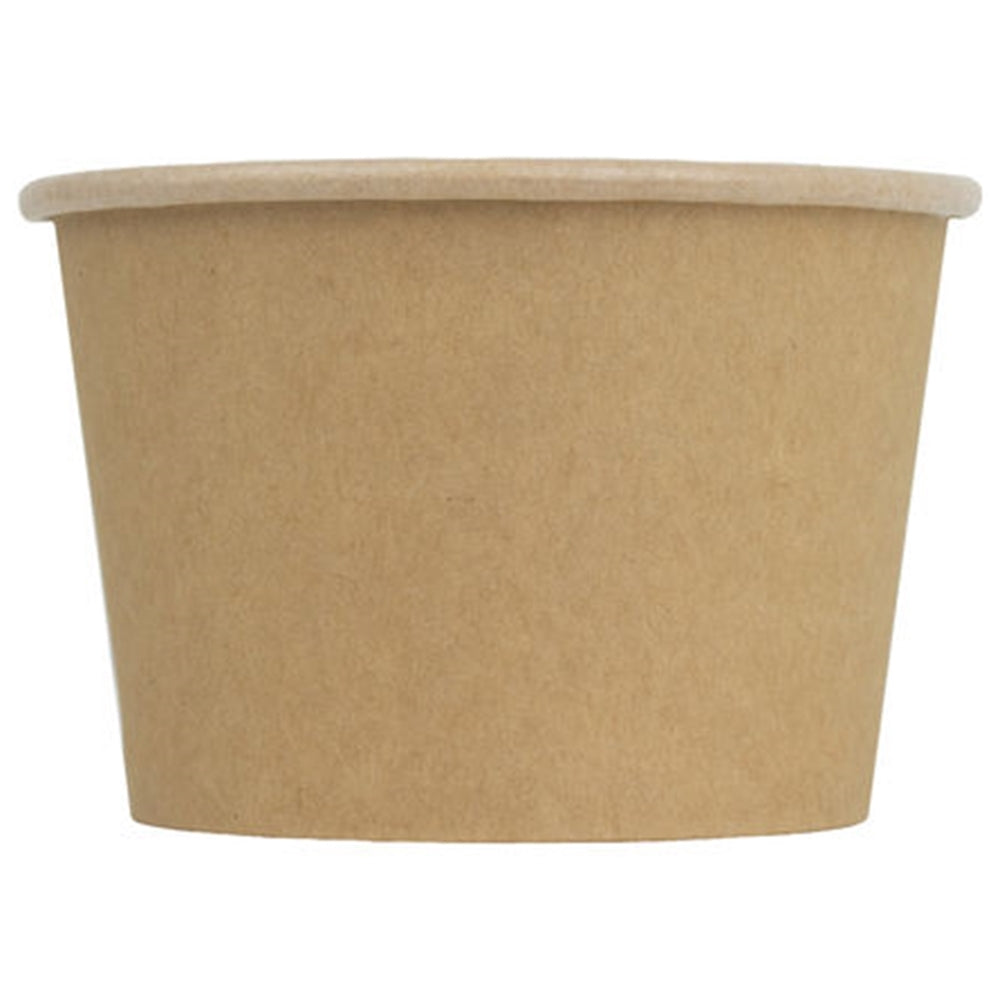 UNIQ® 8 oz Kraft Compostable Cups