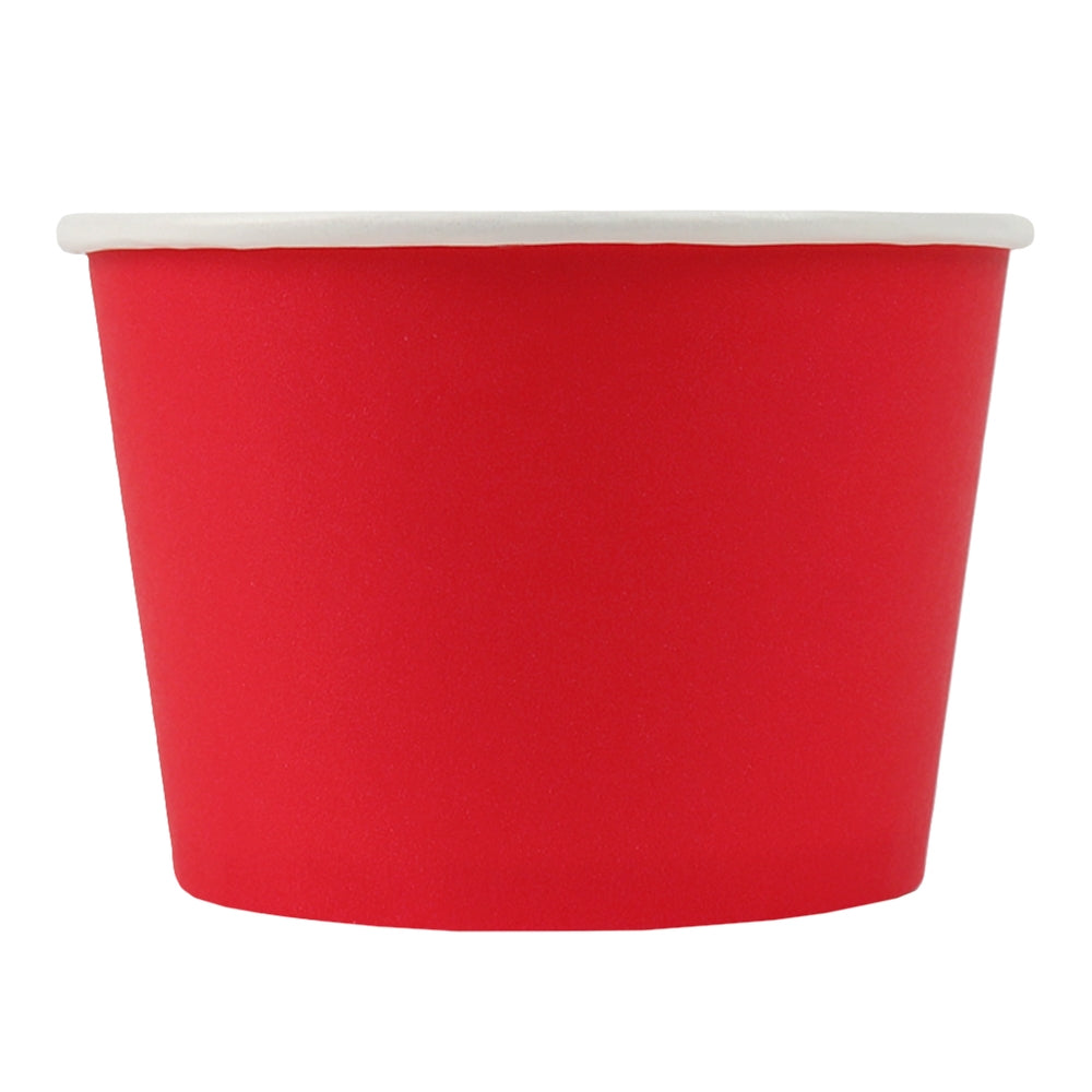 UNIQ® 8 oz Red Eco-Friendly Compostable Cups
