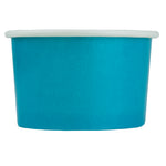 UNIQ® 4 oz Blue Eco-Friendly Compostable Cups