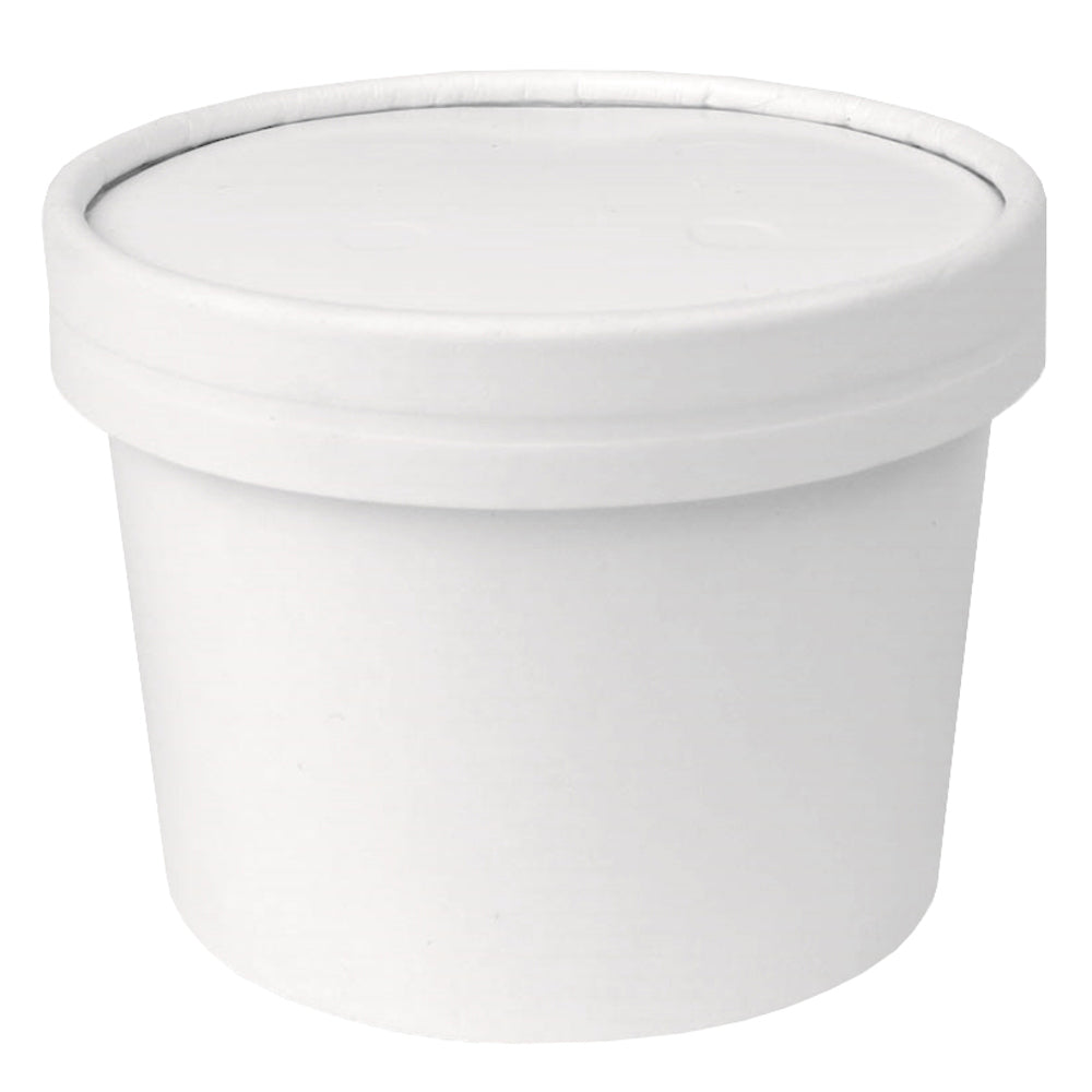 UNIQ® 12 oz Eco-Friendly Compostable To Go Containers With Non-Vented Lids