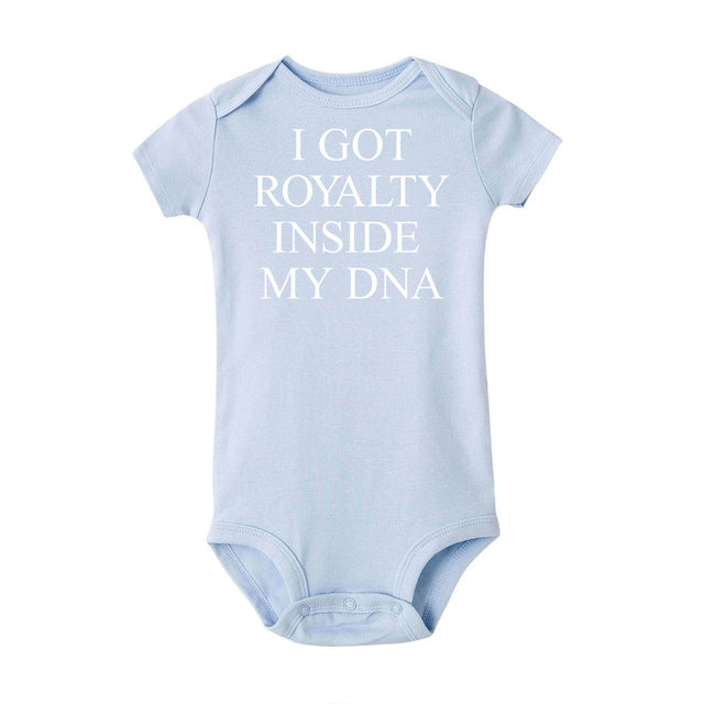 Cute baby I Got Royalty Inside My DNA  Bodysuit Outfits