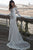 Elegant Mermaid Off-the-Shoulder Sweep Train Long Sleeves Ivory Lace Wedding Dress OHD222