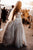 Modest Sweetheart Court Train Sleeveless Tulle Wedding Dress with Appliques OHD118 | Cathyprom