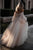 A-Line Off-the-Shoulder Long Sleeves Wedding Dress with Appliques OHD088 | Cathyprom