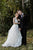 A-Line V-Neck Backless Floor-Length Wedding Dress with Appliques OHD251