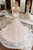 Mermaid V-Neck Long Sleeves Court Train Wedding Dress with Appliques OHD254