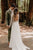 A-Line Bateau Long Sleeves Backless Chiffon Wedding Dress with Lace OHD256