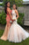 Sparkle Halter Backless Floor-Length Pearl Pink Prom Dress with Pearls LPD55 | Cathyprom