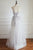 A-Line Sweetheart Floor-Length Ivory Tulle Prom Dress with Appliques Q78