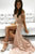Mermaid Off-the-Shoulder Sweep Train Pink Lace Prom Dress with Split OHC073 | Cathyprom