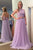 Two Piece Halter Backless Floor-Length Lavender Prom Dress with Lace Beading OHC026 | Cathyprom
