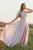 Mismatched A-Line Floor Length Colorful Chiffon Long Bridesmaid Dress OHS142