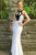Mermaid Jewel Backless Floor-Length White Prom Dress with Keyhole OHC080 | Cathyprom