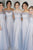 A-Line Off-the-Shoulder Floor-Length Sleeveless Bridesmaid Dress OHS085 | Cathyprom