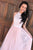 A-Line Halter Floor-Length Pink Tulle Prom Dress with Sash Lace OHC100 | Cathyprom
