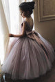 Cheap Cute Ball Gown Tulle Flower Girl Dresses with Bow Baby Dresses OHR019 | Cathyprom