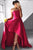 Fabulous Strapless High Low Fuchsia Pleated Prom Dress LPD62 | Cathyprom