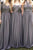 Cheap Sweetheart Floor Length Sleeveless Chiffon Ruffles Long Bridesmaid Dresses OHS109 | Cathyprom