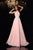 A-Line/Princess High Neck Pleats Sleeveless Long Chiffon Prom Dresses LPD19