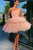 Sweet A Line One Shoulder Sleeveless Short Tulle Homecoming Party Dresses with Ruffles OHM094 | Cathyprom