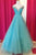 Fabulous Off Shoulder Floor Length Blue Ruched Prom Dress with Beading LPD65 | Cathyprom