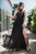 Sexy A-Line Halter Floor Length Sleeveless Long Chiffon Prom Dress with Lace Split OHC180 | Cathyprom