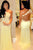 Mermaid Long Sleeves Lace Illusion Back One Shoulder Sweep Train Prom Dress P57