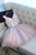 Sweet Pink Homecoming Dress Sexy A-line Short Prom Dress Party Dress OHM179