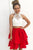 Sparkly Two Piece Halter Sleeveless Beading Short Taffeta Homecoming Party Dress OHM098 | Cathyprom
