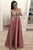 A Line Deep V Neck Sleeveless Beading Prom Dresses/Evening Party Dresses OHC171 | Cathyprom
