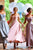 Chic Off-the-shoulder Ankle-length Sleeveless Appliques Satin Bridesmaid Dresses  OHS102 | Cathyprom
