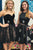 Two Piece Homecoming Dresses Little Black Dress Lace Short Prom Dress Party Dress OHM141