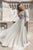 A-Line Bateau Long SleevesBackless Prom/Evening Dress with Beading  OHC168 | Cathyprom